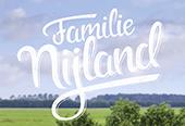 Handgeschreven logo familie Nijland